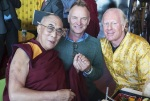 "Sting Dalai Lama Bobby Sager ""Beyond the robe"""