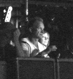 Sting attending the Specials show in Argeles