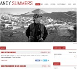 Andy Summers - New website