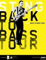 Sting Back to bass tour France automne