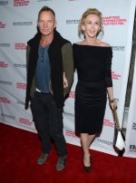 """The girl"" premiere -Sting"