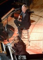 United nations day - Sting and Stevie Wonder